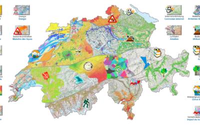 Karten und Funktionen von map.geo.admin.ch für den Alltag